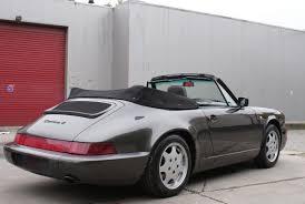 grey porsche 911 convertible porsche 964 carrera 4 cabrio u2022 911 youngtimer