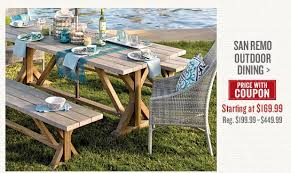 Cost Plus Outdoor Furniture Cost Plus World Market Save On Our New Seaside Modern Outdoor