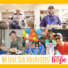 volunteer helping houston homeless of mission