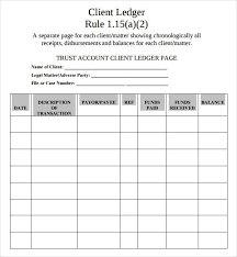 general ledger sheet template double entry bookkeeping