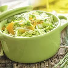 cuisiner un chou vert recette salade de chou vert et carottes