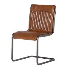 Leather Office Chair Luther Brown Leather Office Chair