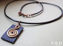 leather necklace pendant images Necklace for men leather cord with swirl pendant celtic symbol jpg