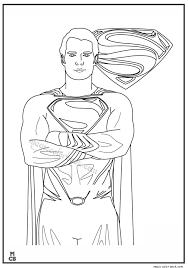 superman coloring pages printable 08