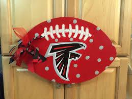 atlanta falcons football wall door hanger
