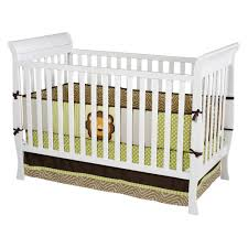 delta convertible crib toddler rail delta children glenwood 3 in 1 convertible sleigh crib white