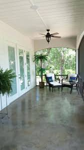 Painted Porch Floor Ideas by 21 Rosemary Lane Looking For A Weekend Project Painted Concrete