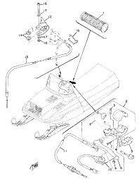 1979 yamaha enticer 340 et340c grip wiring parts best oem grip