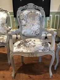 Grey Velvet Dining Chairs Grey Crushed Velvet Dining Chairs Home Design Ideas