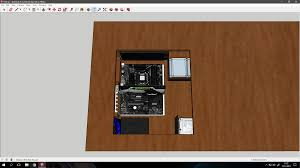 my hobbies me google sketchup diy desk pc project thoughts google sketchup case modding and
