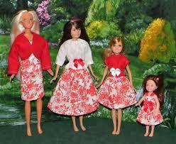 barbie skipper stacie chelsea 4 pk mix bssc 17