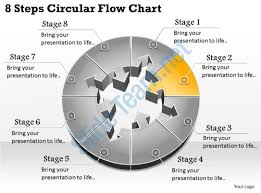 1013 busines ppt diagram 8 steps circular flow chart powerpoint