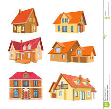 set of houses stock image image 11539061