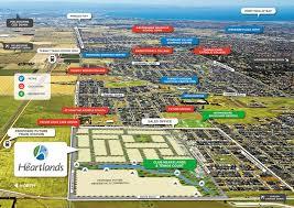Hummingbird Map The Heartlands Tarneit Vic Reapfield Properties