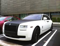 carro rolls royce rolls royce ghost with carbon fiber trim exotic cars on the