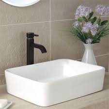 small rectangular vessel sink small vessel sink reviews comparisons small space project