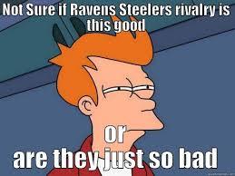 Ravens Steelers Memes - ravens vs steelers quickmeme