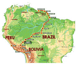Amazon River On World Map by 3rd Great Amazon Adventure 2017