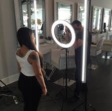 professional makeup light stellar 2 linear light panel 1 ring light 18 3 stands