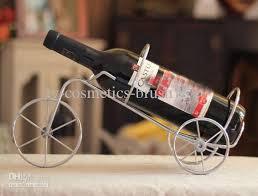 2018 bronze bicycle wine racks wine rack wine holder metal wine