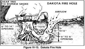 Dakota Firepit Site Forest Environment Exploration Survival