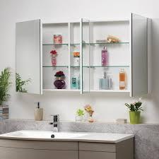 Bathroom Mirror Cabinet Bathroom Cabinets Genesis Options Mirrored Bathroom Mirror
