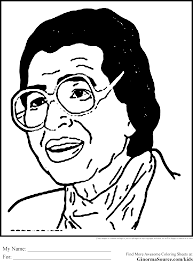 great rosa parks coloring page 86 in free colouring pages with