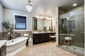 Master Bath Remodels Signature Designs Kitchen Bath Stylish Master Bathroom Rend