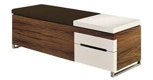 Wood Ottoman Bench Design Glamorous Storage Ottomans And Benches Storage