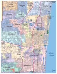 map of ft lauderdale editable fort lauderdale fl city map illustrator pdf