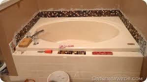 Tile Around Bathtub Diy Newlyweds Diy Home Decorating Ideas U0026 Projects Feeling Grouty