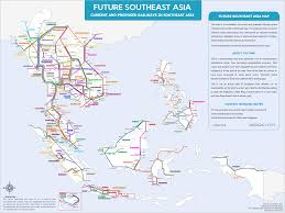 Malaysia On A Map Future Southeast Asia Railway Map
