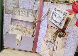 vintage wedding guest book guest book shabby chic rustic theme lilac and dusty pink