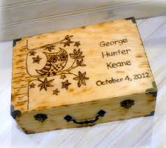 personalized keepsake boxes personalized keepsake box baby childs time capsule 1st birthday