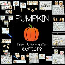 pumpkin centers and activities for fall
