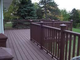 fresh modern deck railing ideas pvc 17412
