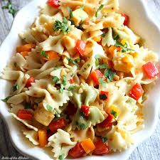 easy salad recipe easy pasta salad recipe belle of the kitchen