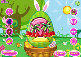 Easter Decorations Spotlight by Easter Egg Decoration A Free Game On Girlsgogames Com