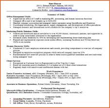folded clout tk computer skills section on resume example