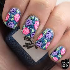 52 week challenge sparkle roses u2022 polish those nails