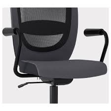 flintan nominell swivel chair with armrests ikea