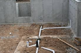 Plumbing Rough by Rough In Basement Plumbing 2 Stock Photo Image 43002454