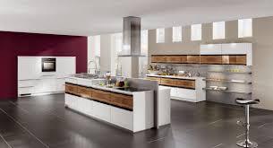 Modern Kitchen Decorating Beige Contemporary Kitchen Cabinet Slim Wall Mount Vent Hood
