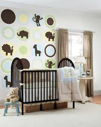Soft Pastel And Warm Colors  Nursery Decoration Interior Design - Nursery interior design ideas