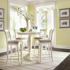 Sturdy Kitchen Table by The Curved Pedestal Accents The Rounded Table And Makes Social