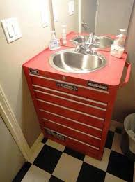 cave bathroom ideas badass sink dwa sinks