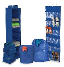8 piece ultimate dorm organization set by honey can do college