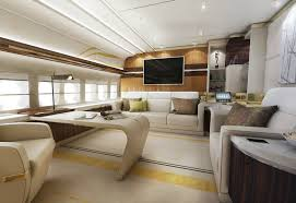 Private Plane Bedroom Amazing 747 Custom Private Jet Interior Design 4 000 Sq Ft