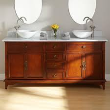 Amazing Bathroom Vanities With Vessel Sinks Inspiration Home Designs - Bathroom vanities double vessel sink