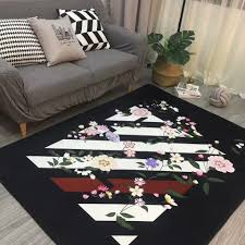 online shop lion embroidery fashion nordic livingroom carpet